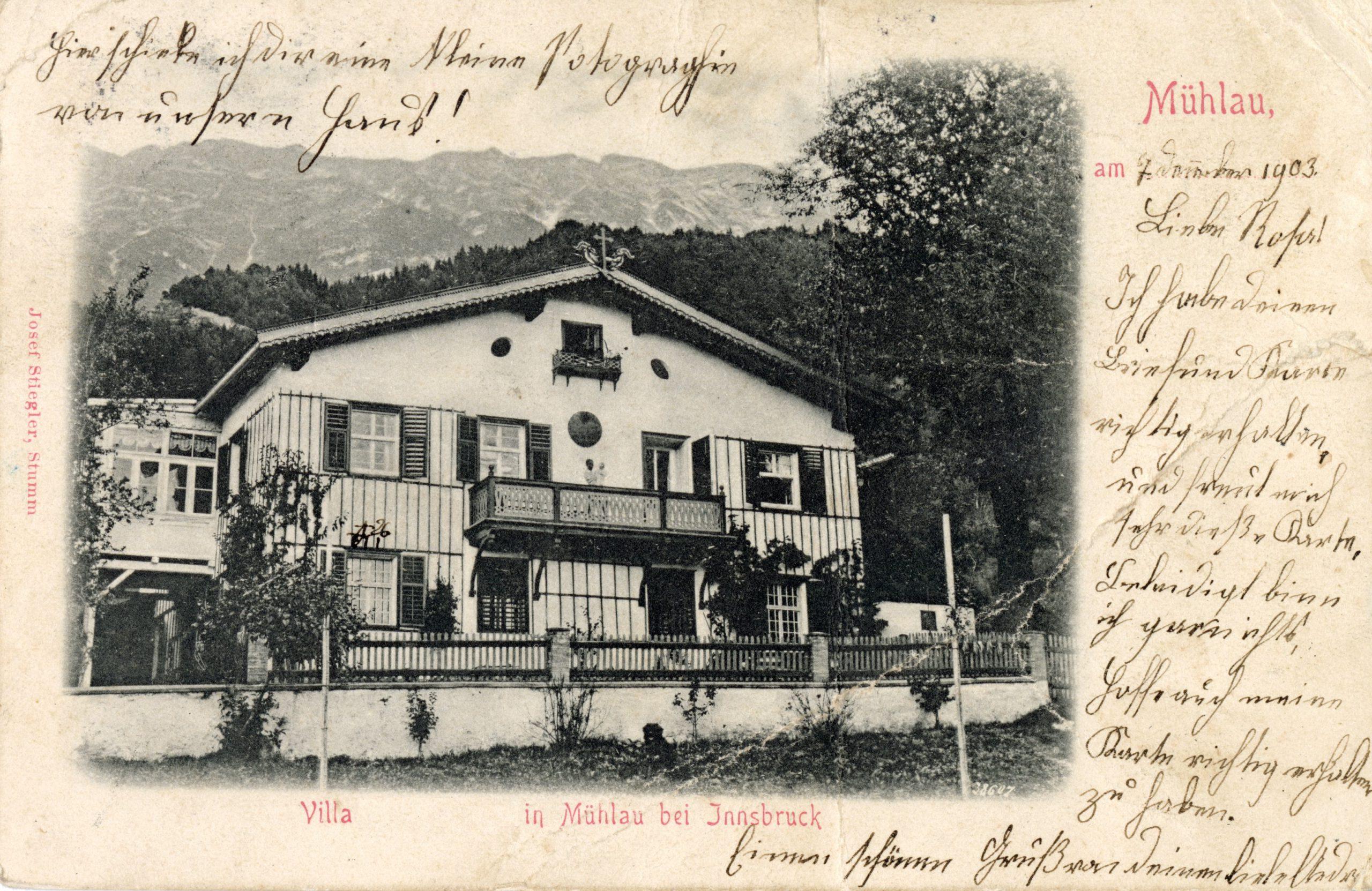 Villa Gesucht