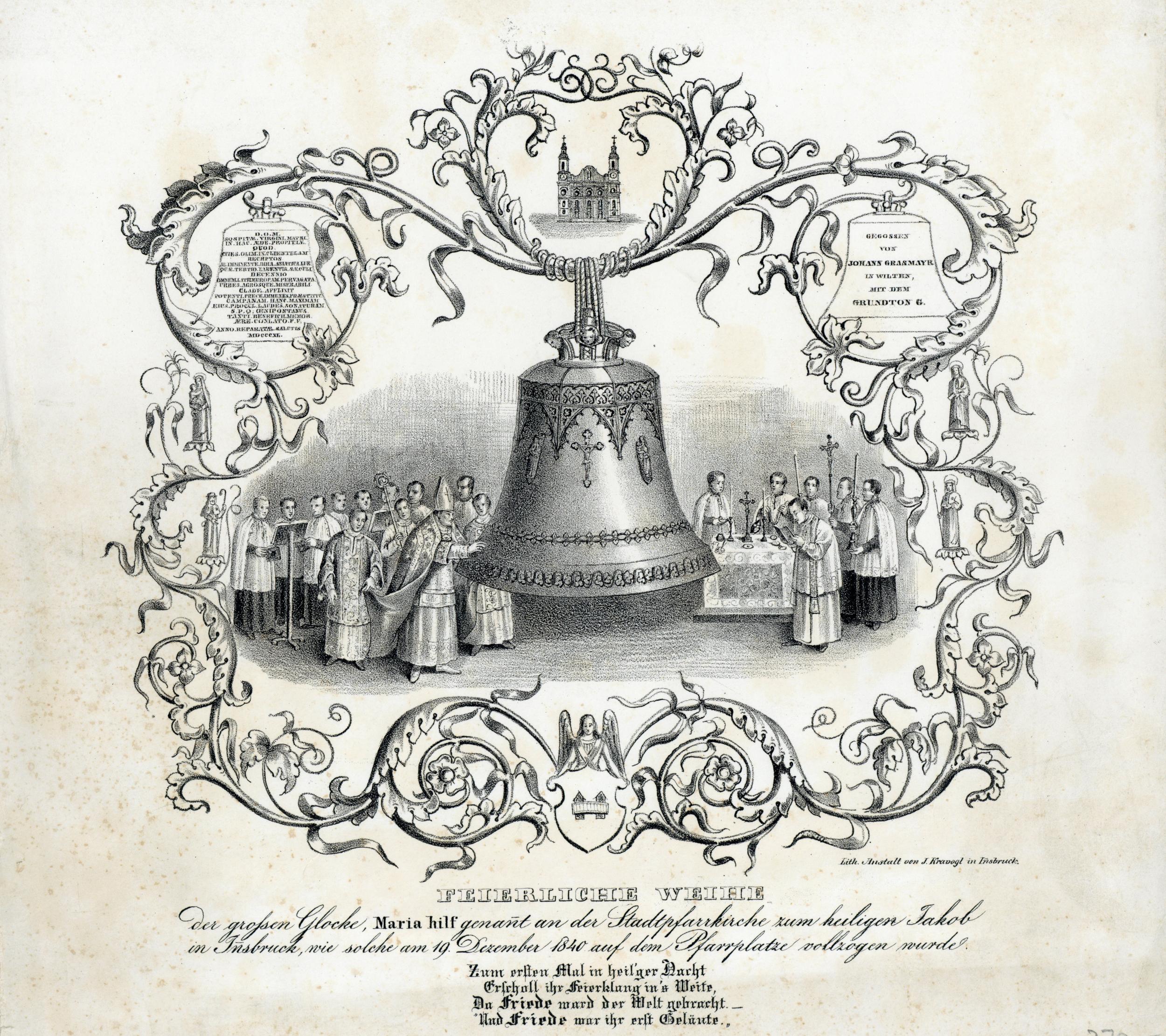 Eine Neue Glocke Für St. Jakob