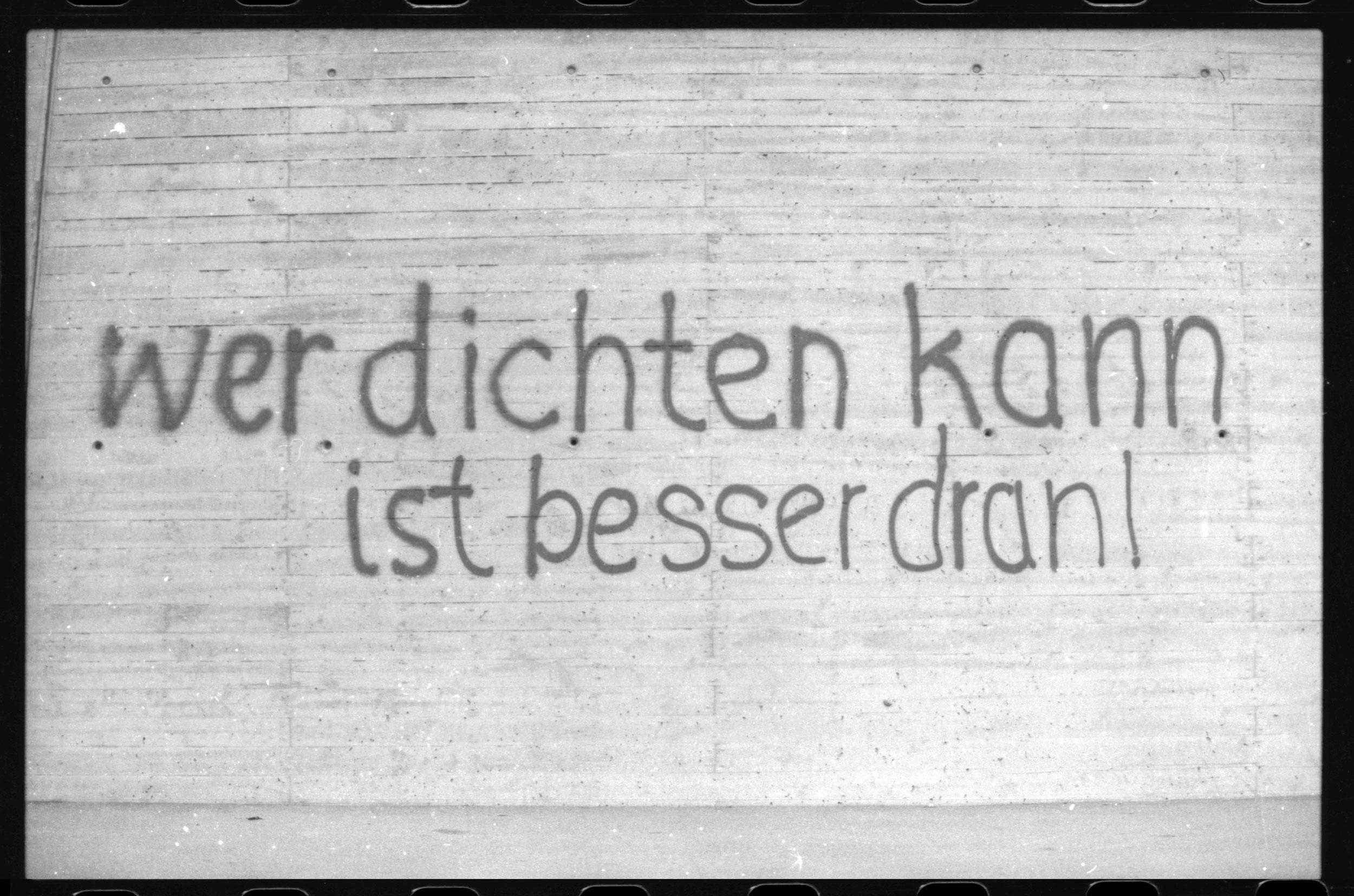 Graffiti Der Kleinstadt