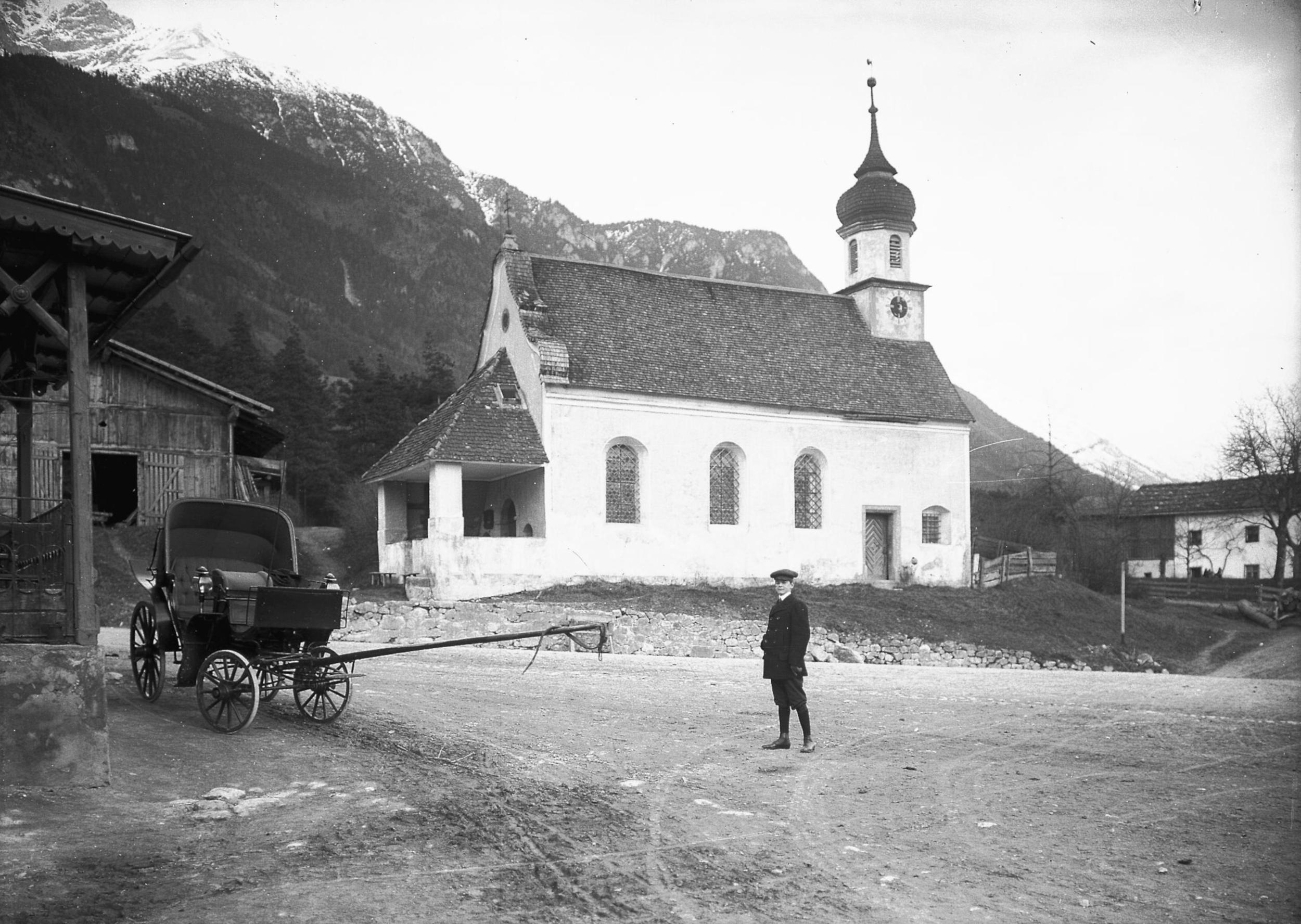 Die Kirche Mariä Heimsuchung In Kranebitten