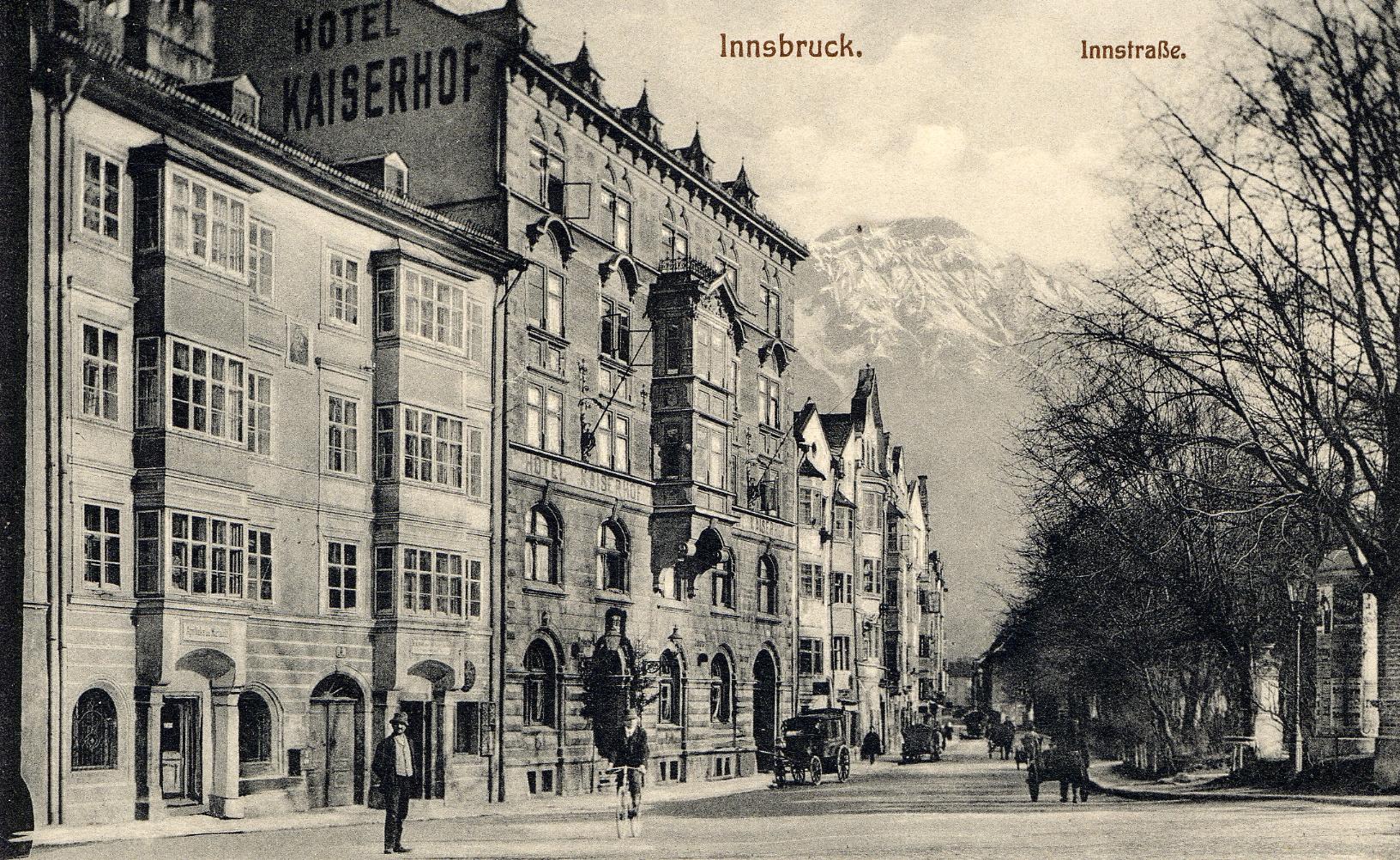 "Das Hotel ""Kaiserhof"""
