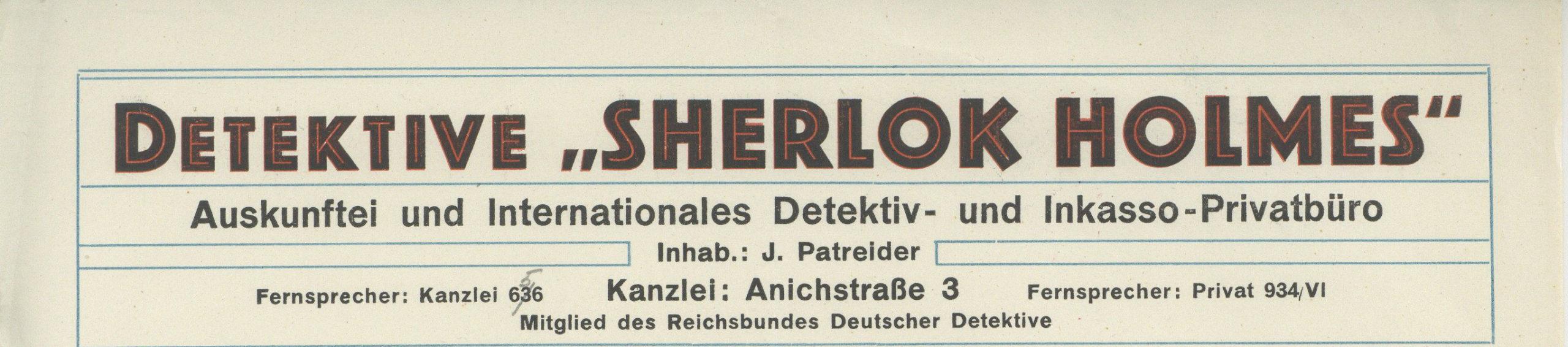 Sherlock Holmes Ermittelt In Innsbruck