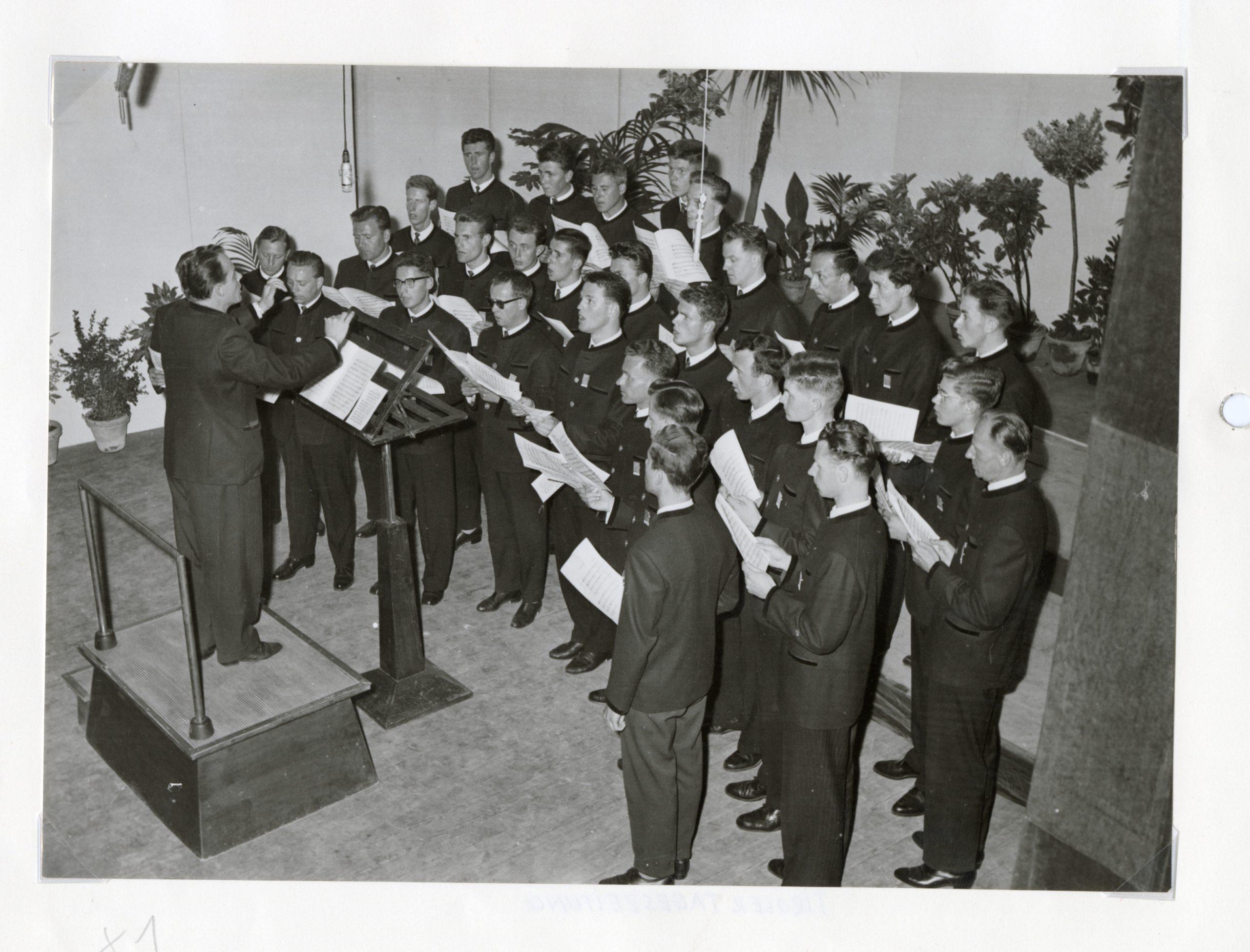 Der Wiltener Männerchor – Sangesfreude Seit 1956 – Ein Rückblick                     Teil 1