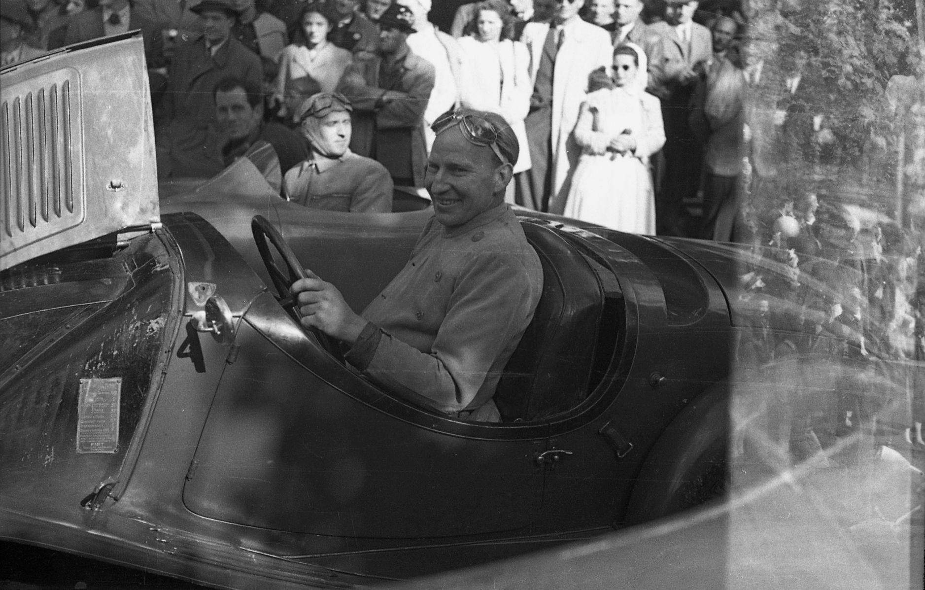Otto Mathé – Rennfahrer Und Autopionier Aus Innsbruck