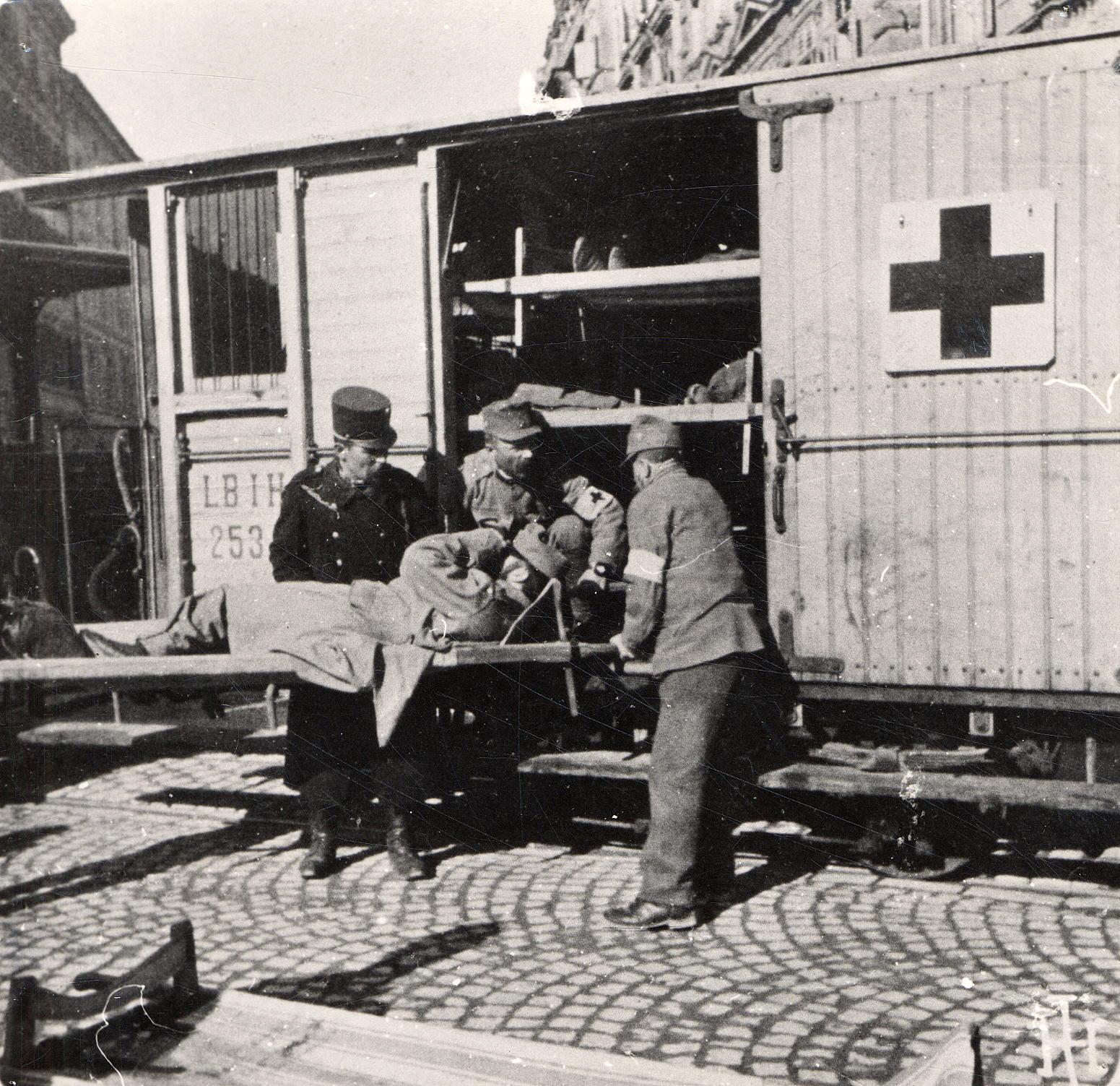 Krankentransport Mit Straßenbahn