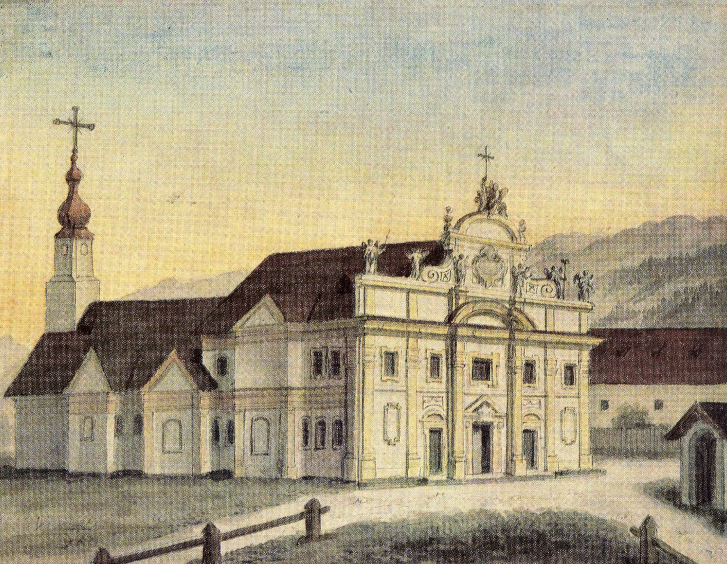 Die Ehemalige Heiliggrab- Oder Siebenkapellenkirche