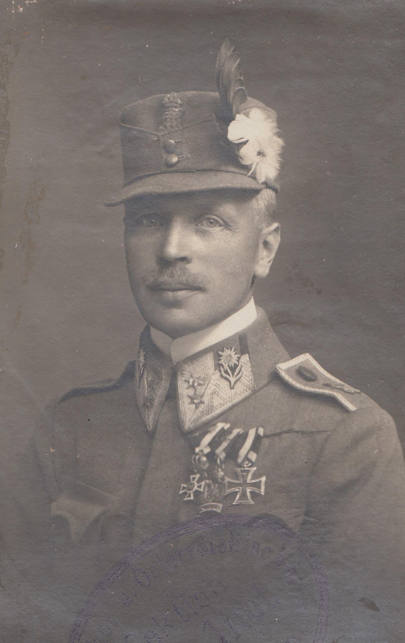 Aus Dem Tagebuch Eines Kaiserschützenoffiziers I