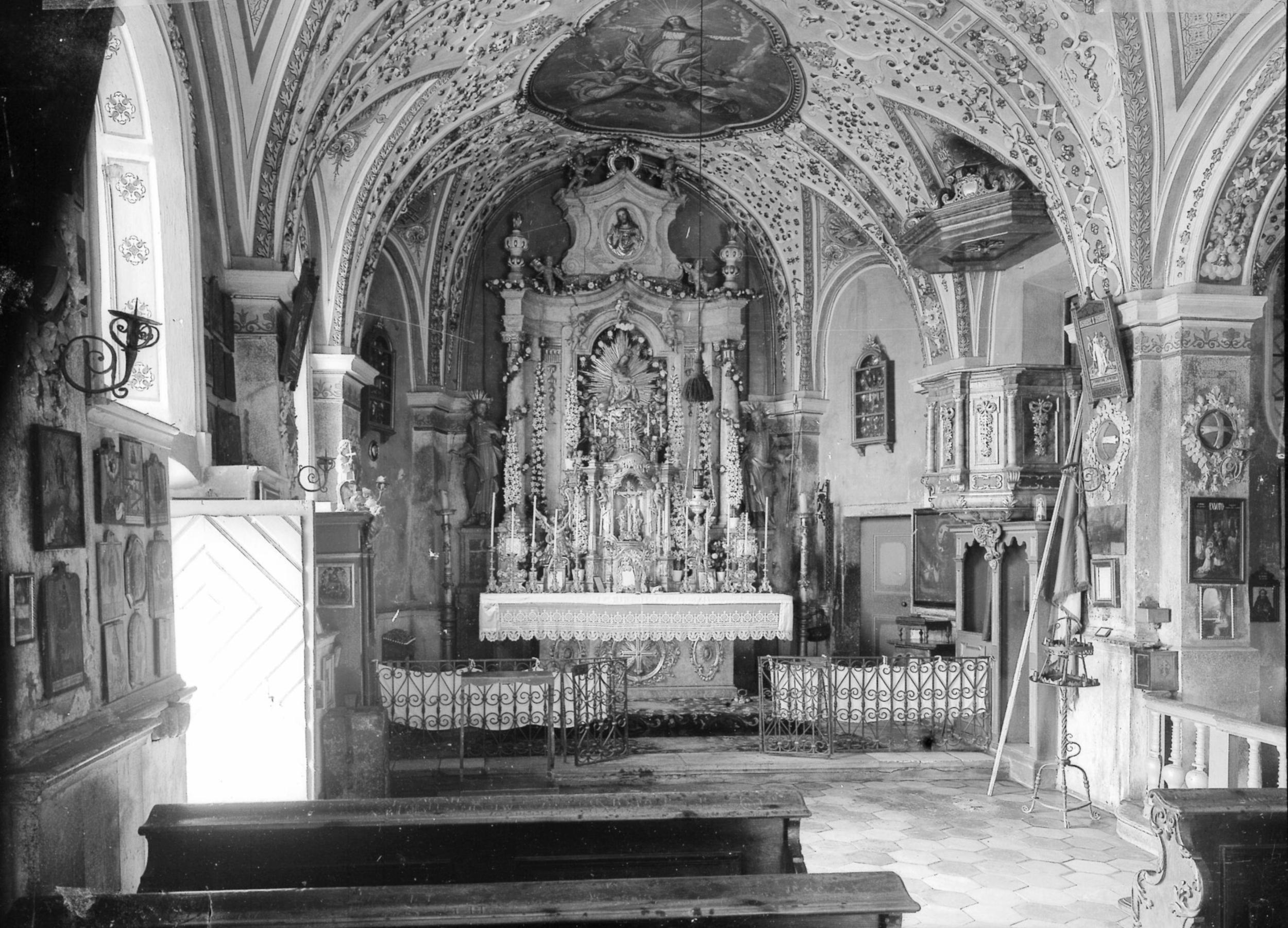Die Wallfahrtskirche Maria Schnee In Heiligwasser, Teil 3